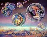 Ich glaube das diese Mouches Volantes die ersten Bewohner der Erde, der Galaxie, des Ursprungs sind und wir haben sie deshalb genau vor unserem Auge, damit wir immer an unseren Ursprung erinnert...