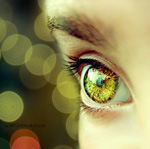 Die Struktur der Iris ist wie der Fingerabdruck bei jedem Menschen individuell.