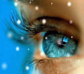 Himmlische Lichtverhältnisse bei der  Meditation mit offenen Augen.