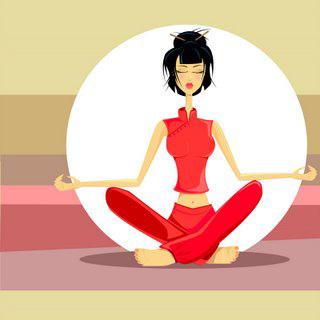 Yoga gegen Mouches volantes?