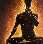 Aufwärmübungen für die Meditation mit offenen Augen.