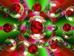 Mouches volantes - Christmas Bubbles: Ich wünsche allen Leserinnen und Lesern lichtvolle Tage des Feierns und des Übergangs!
