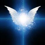 Als ich die Erfahrung eines Lichtstrahles hatte, der von zwei Engeln aus in meine Augen strahlte, konnte ich die Mouches volantes sehen.