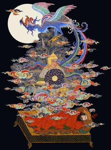 Reale Träume haben im Sufismus eine grosse Bedeutung: Sie vermitteln Informationen und Anweisungen aus der himmlischen Welt.
