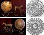 Sonnenwagen von Trundholm, D�nemark, 18.-14. Jh. v. Chr.