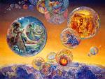 Bubble World Mouches volantes Bild.
