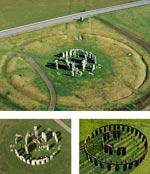 Stonehenge in Wiltshire, England, wurde ab ca. 3000 v. Chr gebaut.