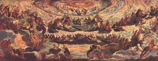 Gott als konzentrischer Kreis: Paradies